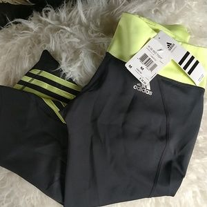 NWT Adidas workout crop tights sz.M